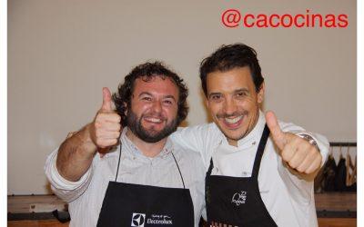 CURSO DE COCINA: FRANCIS PANIEGO ¡¡¡ENORME!!!